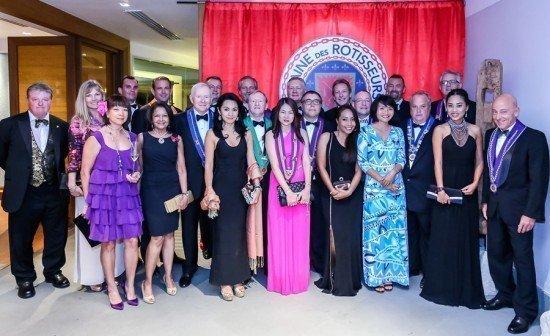 Regent Phuket hosts Chaîne des Rôtisseurs Bailliage Phuket dinner