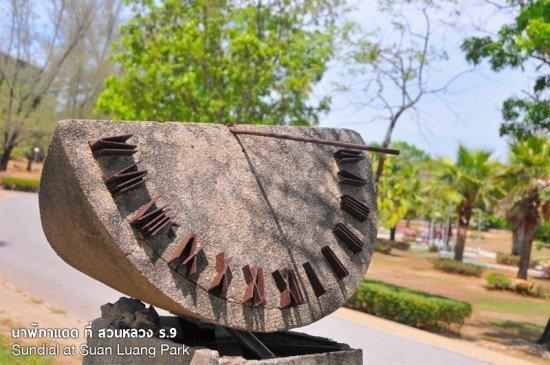 Sundial at Suan Luang Park