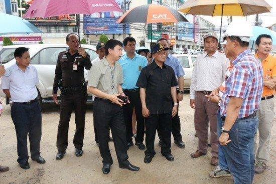 Phuket underpass work put on hold