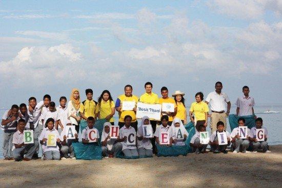 Dusit Thani Phuket holds beach cleaning activity