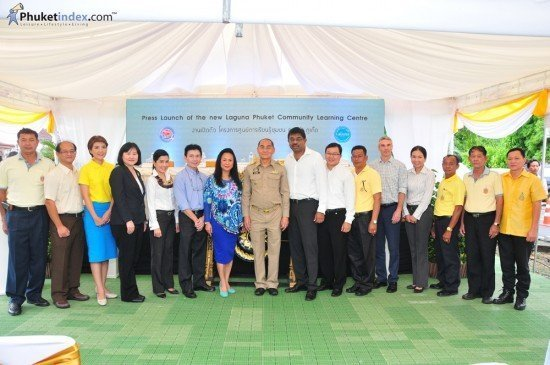 Laguna Phuket Launches Community Learning Centre