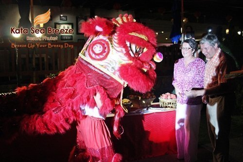 Kata  Sea Breeze Resort welcomed the Chinese New Year of the Goat