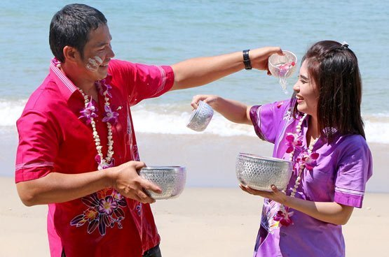 A Songkran festival package family celebration at Amari Phuket