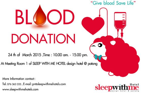 Blood donation camp on March 24, 2015