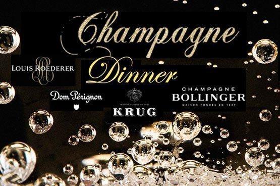 Champagne Dinner at Acqua Restaurant