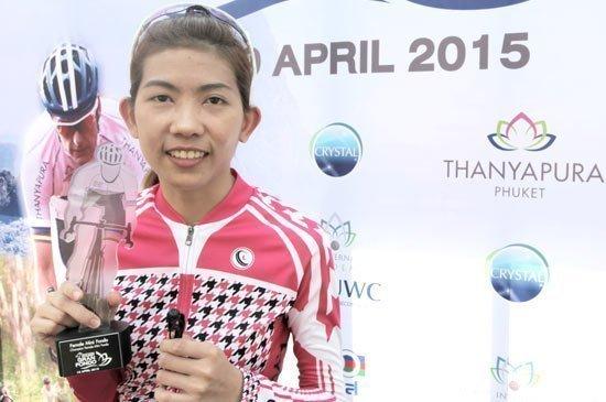 Chidchanok Puangjitr - Open Female Mini Fondo 40km Winner