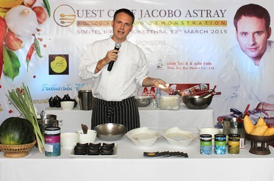Unforgettable cookery demonstration & dinner with guest chef Jacobo Astray