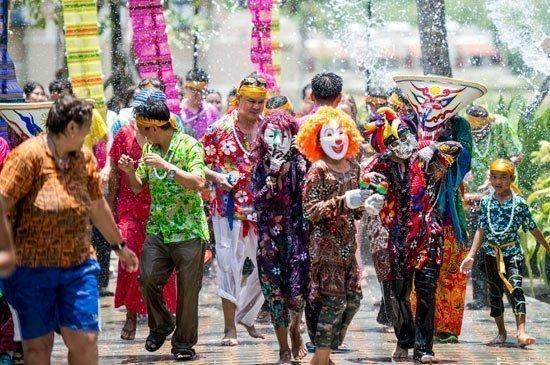 Songkran Festival at Angsana Laguna Phuket