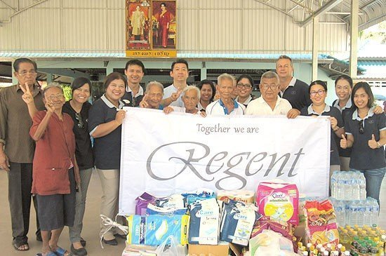 Regent Phuket Cape Panwa Conducts CSR Initiatives, visit senior citizens at Phuket Aged Care Home.