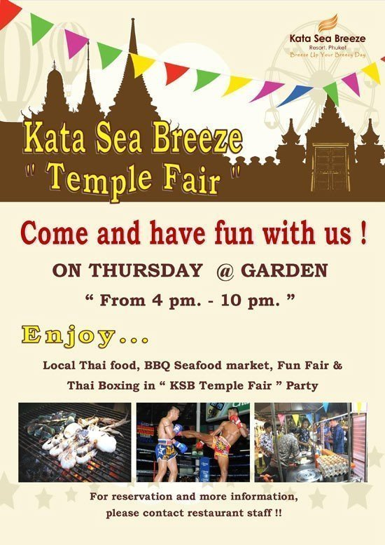 KSB Temple Fair is welcome to all guests