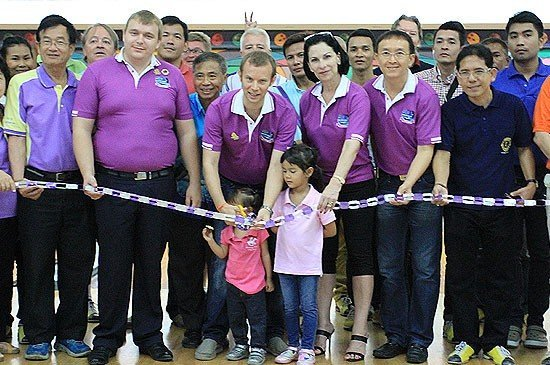 """A Ray Of Hope 4"" The Charity Event of Bowling Tournament by Lions Club of Phuket Pearl."
