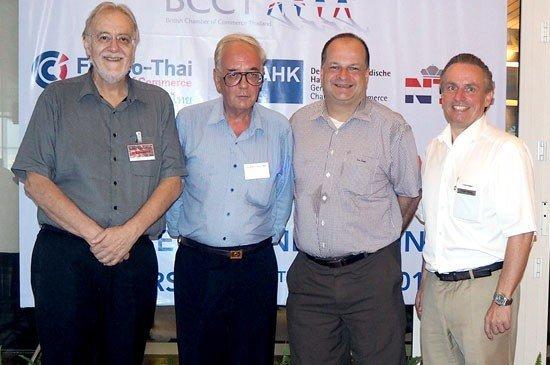 The British Chamber of Commerce Thailand holds a business dinner at Amari Phuket