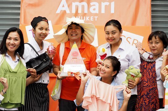 Amari Phuket holds it annual second-hand market for charity