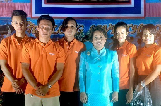 Amari Phuket takes part in the birthday celebration for Her Majesty Queen Sirikit