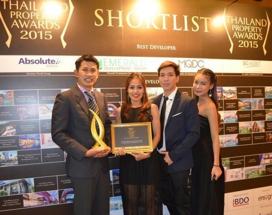 05Emerald Development Group is officially the Best Properties in Thailand by Thailand Property Awards 2015 Winning