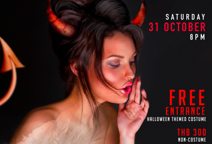 """Xana Beach Club Parties this halloween with a night of """"Demons and angels"""""""