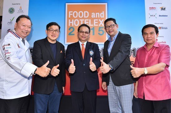 Phuket to host FOOD and HOTELEX 2015 for first time