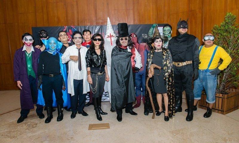 """Superheroes and Villains"" at The Millennium Resort Patong, Phuket"