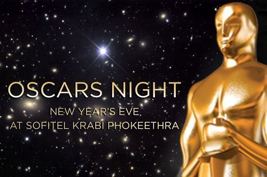 Oscars night new year's eve party & gala dinner at Sofitel Krabi