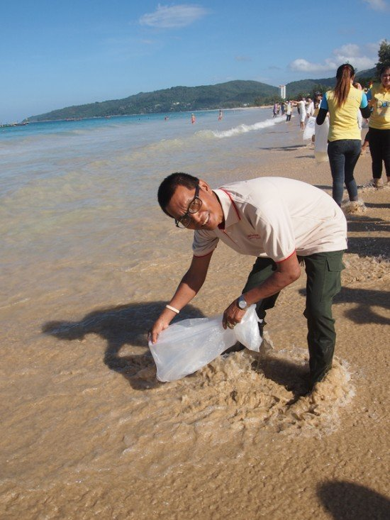 Father's Day Beach Cleanup at Karon
