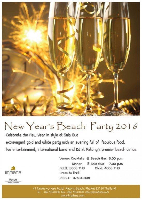 New Year Poster impiana phuket 01