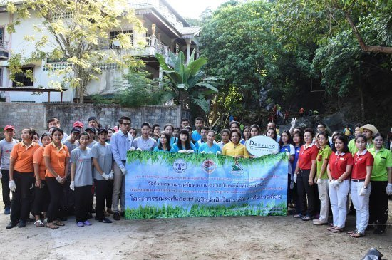 Preservation and conservation of environment around Patong Beach