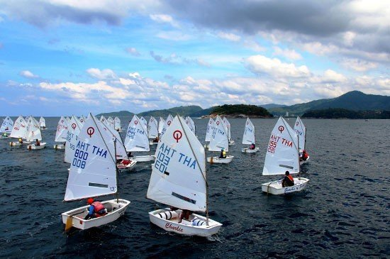 Phuket King's Cup Regatta International Dinghy Class young sailors put skills to the test on final day's racing