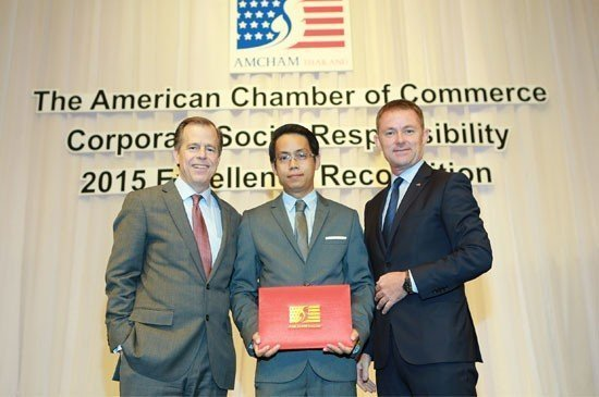 Laguna Phuket Shines at AMCHAM CSR 2015 Excellence Recognition