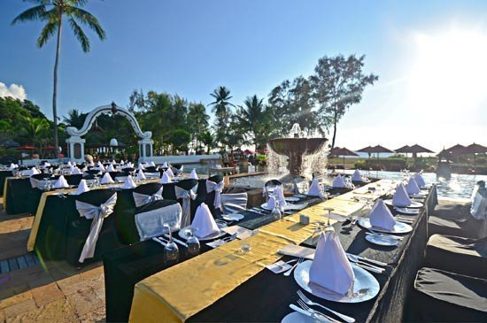 JW Marriott Phuket Resort & Spa 's outdoor banqueting function
