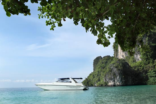 Luxury private speedboat trips & free elephant riding at Sofitel Krabi