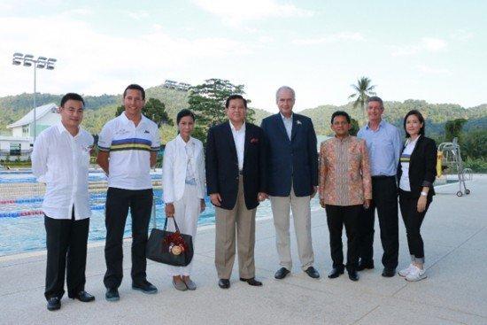 Deputy Prime Minister visits Thanyapura