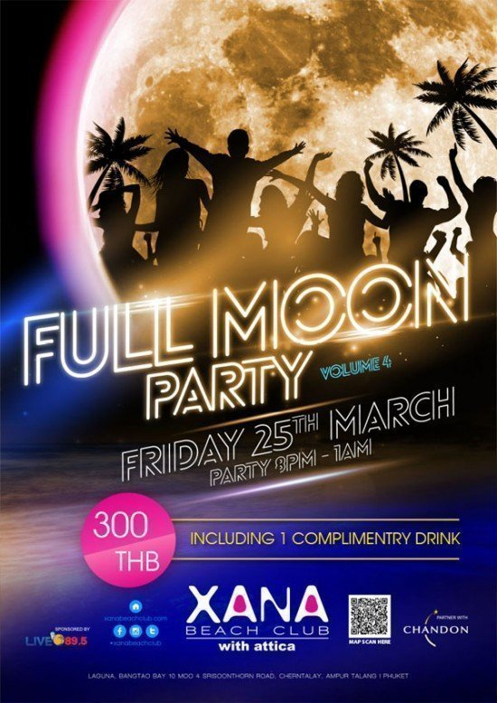 XANA Fullmoon Party March 2016 -A1