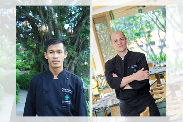 Banyan Tree Phuket welcomes Pittaya Suppanarm and Kreaton Cutajar as Executive Sous Chefs