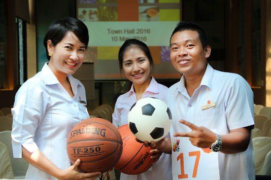 Town hall meeting 2016 held at Amari Phuket