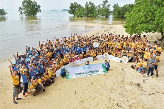Laguna Phuket Celebrated 10th Anniversary of Greening Community