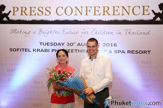 NAT Association & Sofitel Krabi Working towards a brighter future for underprivileged children in Thailand