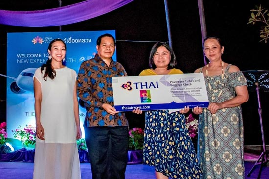 The Nai Harn Phuket Co-hosts Thai Airways experience