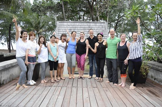 JW Marriott Phuket Resort & Spa Marks the 4th Triumph of Health & Wellness Weekend Retreat(The Reboot and Re-energize your body & mind workshop)