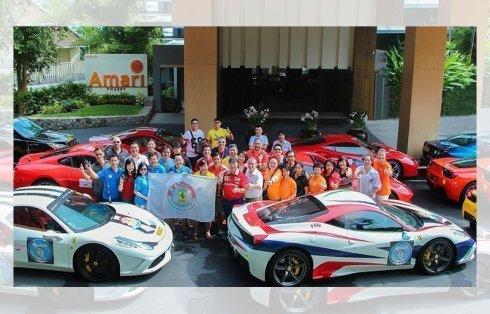 """Ferrari"", one of the fastest vehicles, visits Amari Phuket"