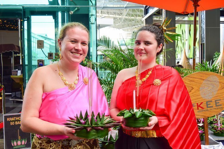 Activities on Loy Krathong's day at The KEE Resort & Spa