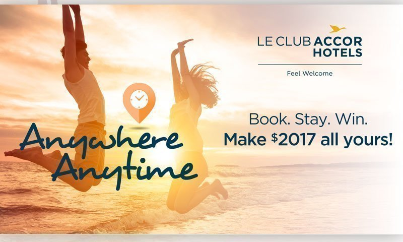 Le Club AccorHotels members earn x4 rewards point