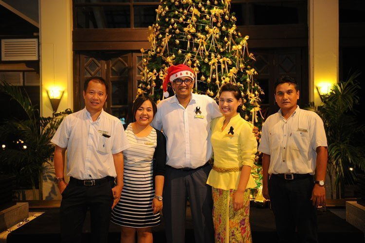 Christmas Tree Lighting Ceremony at Dusit Thani Laguna Phuket