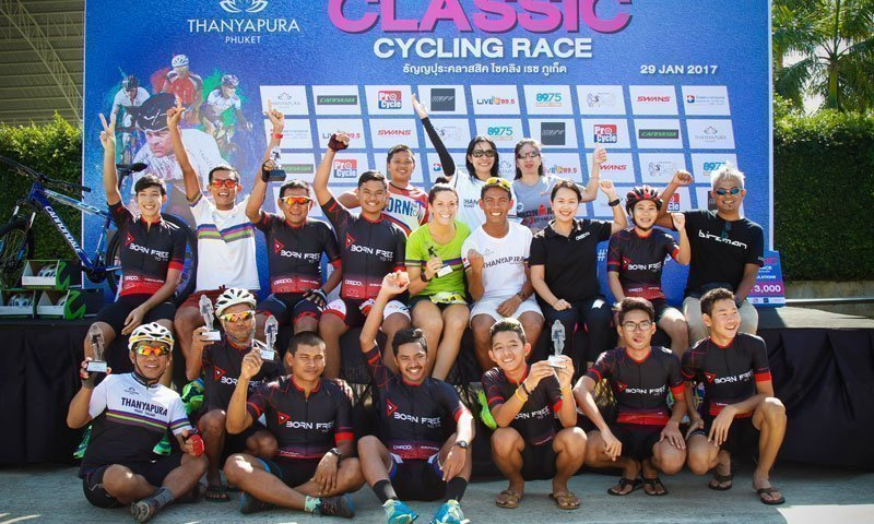 The Third Thanyapura Phuket Classic Cycling Race