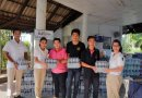The Racha donated water to flood victims in south of Thailand