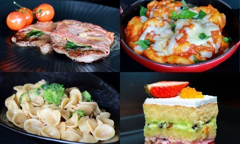 Seven dishes from seven regions in Italy available at La Gritta, Amari Phuket