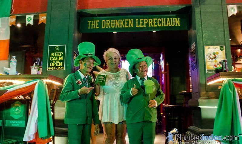 Celebrate St.Patrick's Day at The Drunken Leprechaun