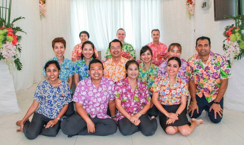 Amari Phuket Team Celebrates The Thai New Year at Songkran Festival