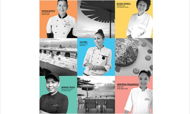 Phuket's Top Female Chefs Unite For a Good Cause