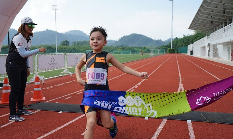 Young Triathletes Compete at the 5th Thanyapura Superkidz Triathlon