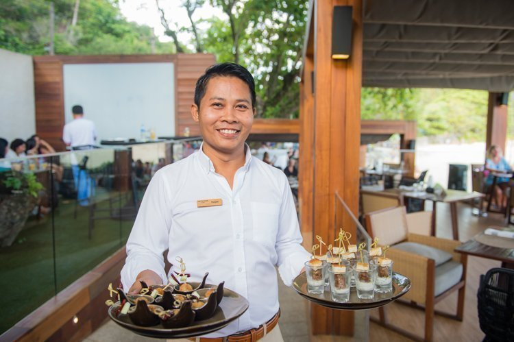 Rock Salt Restaurant at The Nai Harn Phuket celebrates First Anniversary with Epicurean Birthday Bash by the sea